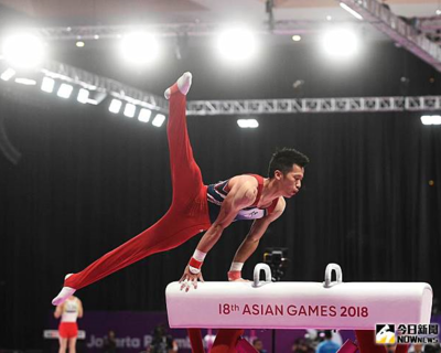 Lee Chih-kai won the gold medal in the men's pommel horse at Artistic Gymnastics World Cup series(Open new window)